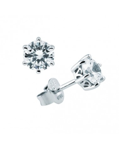 PENDIENTES DE PLATA IMITACION DE DIAMANTES 1,5 KILATES DIAMONFIRE 6212661082