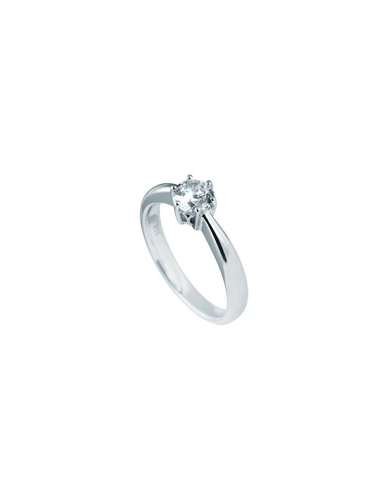 ANILLO DE COMPROMISO DE PLATA 0,75 KILATES DIAMONFIRE 6114861082