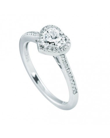 ANILLO DIAMONFIRE DE PLATA CORAZON 6114001082