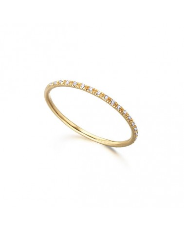 ANILLO DIAMANTES ALIA AMARILLO