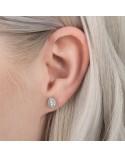 PANDORA TEAR EARRINGS 296252cz