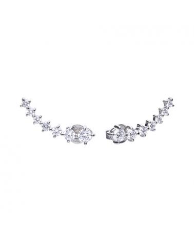 PENDIENTES DIAMONFIRE EAR CUFF 6218111082