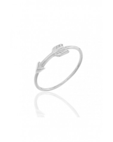 ANILLO PLATA FLECHA ARROW