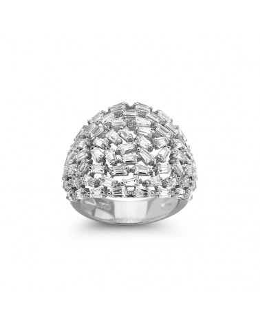 ANILLO DE PLATA DIAMANLY KH-8042