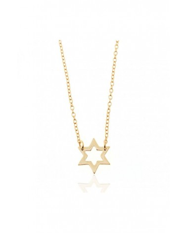 COLLAR STAR GOLD PLATED