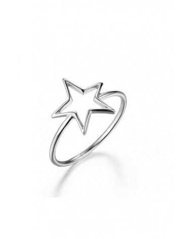 ANILLO PLATA ESTYLI STAR ROCK