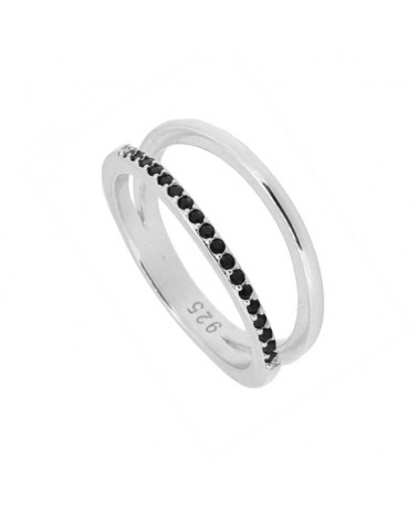 ANILLO ESTYLI INFINITE IN SILVER