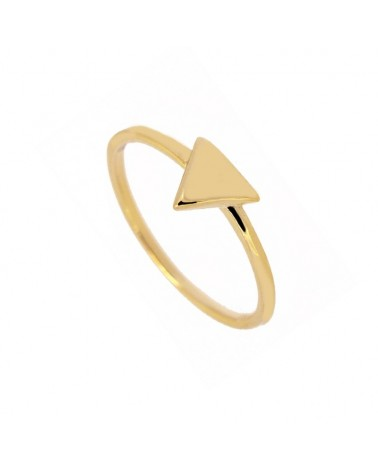 ANILLO ESTYLI TRIANGLE IN GOLD