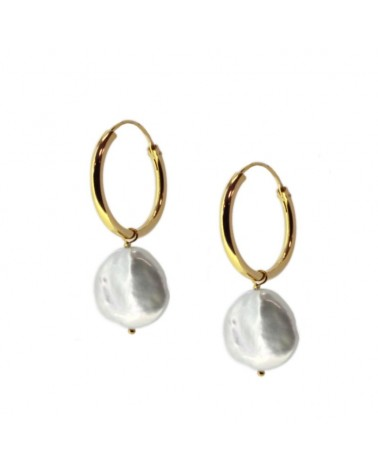 PENDIENTES ESTYLI PEARLS IN GOLD