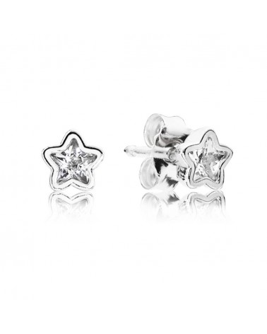 PANDORA STAR EARRINGS 290597CZ