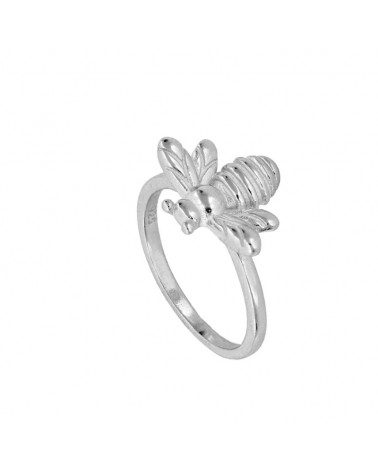 ANILLO BEE IN SILVER