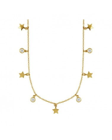 COLLAR ESTYLI STARS IN GOLD