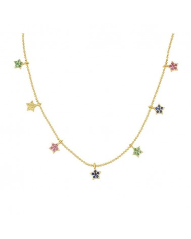 COLLAR ESTYLI STARS MULTICOLOR