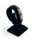 PULSERA DE DIAMANTES NEGROS BLACK DIAMONDS