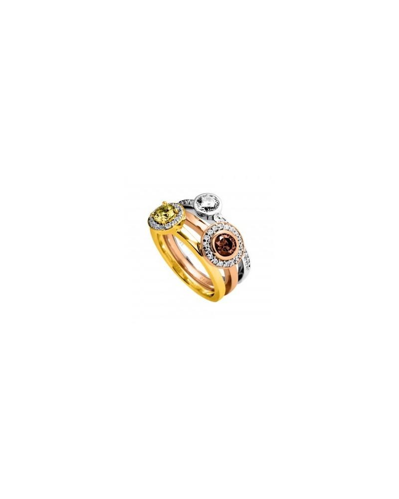 ANILLO DE COMPROMISO DE PLATA 2,3 KILATES DIAMONFIRE 6108281082