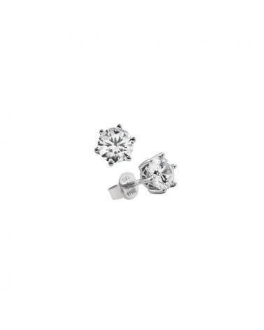 PENDIENTES DE PLATA IMITACION DE DIAMANTES 2 KILATES DIAMONFIRE 6212651082