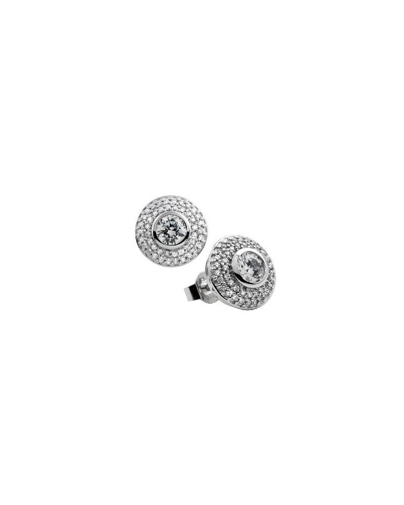 PENDIENTES DE PLATA IMITACION DE DIAMANTES 1,46 KILATES DIAMONFIRE 6208601082