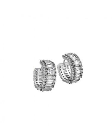 PENDIENTES DIAMONFIRE DE PLATA 6209821082