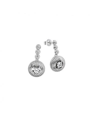 PENDIENTES DIAMONFIRE DE PLATA 6210161082