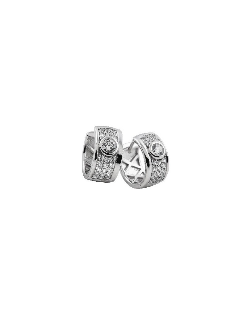 PENDIENTES DE PLATA IMITACION DE DIAMANTES 1,13 KILATES DIAMONFIRE 6213281082