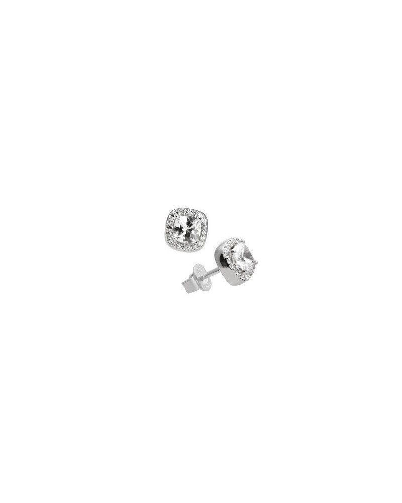 PENDIENTES DE PLATA IMITACION DE DIAMANTES 1,57 KILATES DIAMONFIRE 6214661082