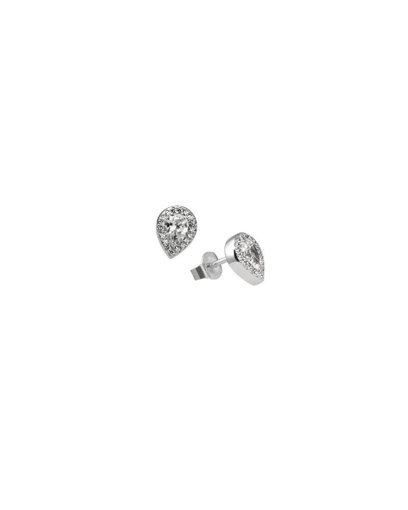 PENDIENTES DE PLATA IMITACION DE DIAMANTES 1,18 KILATES DIAMONFIRE 6214681082