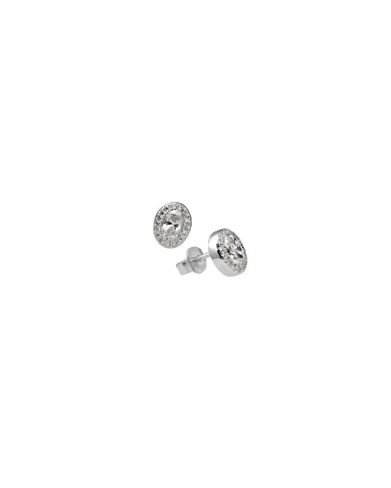 PENDIENTES DE PLATA IMITACION DE DIAMANTES 1,22 KILATES DIAMONFIRE 6214701082