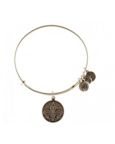 PULSERA ALEX AND ANI FLOR DE LIS BLANCA A12EB06RS