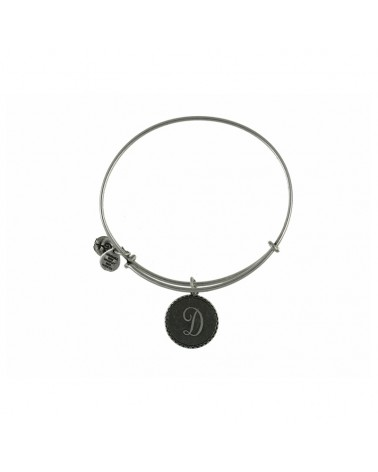 PULSERA LETRA D ALEX AND ANI BLANCA A08EB91DS
