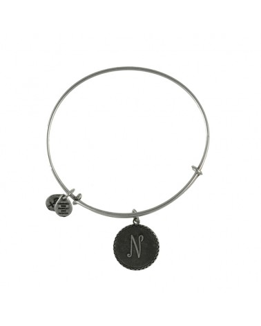 PULSERA LETRA N ALEX AND ANI BLANCA A08EB91NS