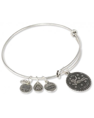PULSERA VIRGO ALEX AND ANI BLANCA A07EB40VIRS