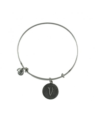 PULSERA LETRA V ALEX AND ANI A08EB91VS