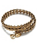 PULSERA ALEX AND ANI GYPSY 66 DORADA
