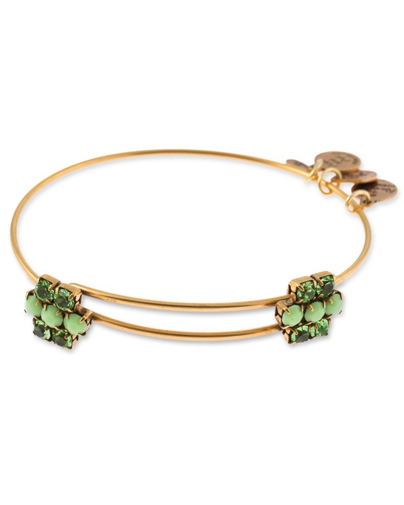 PULSERA ALEX AND ANI CARNAVAL FLOR VERDE A13EB75RG