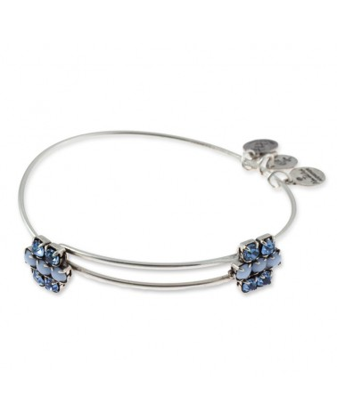 PULSERA ALEX AND ANI FLOR AZUL A13EB79RS