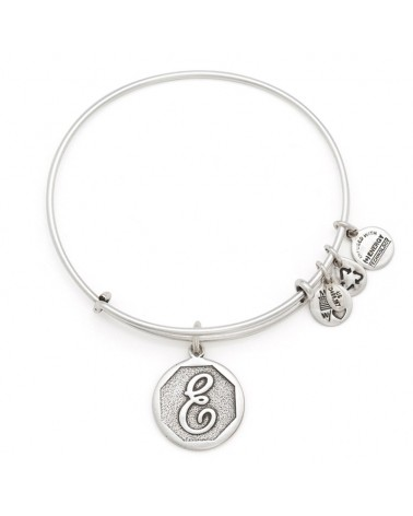 PULSERA LETRA E NEW ALEX AND ANI BLANCA A13EB14ES