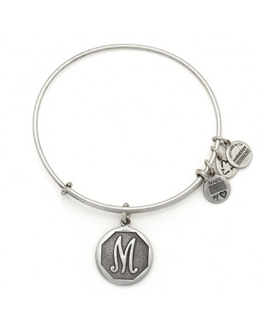 PULSERA LETRA M NEW ALEX AND ANI BLANCA A13EB14MS