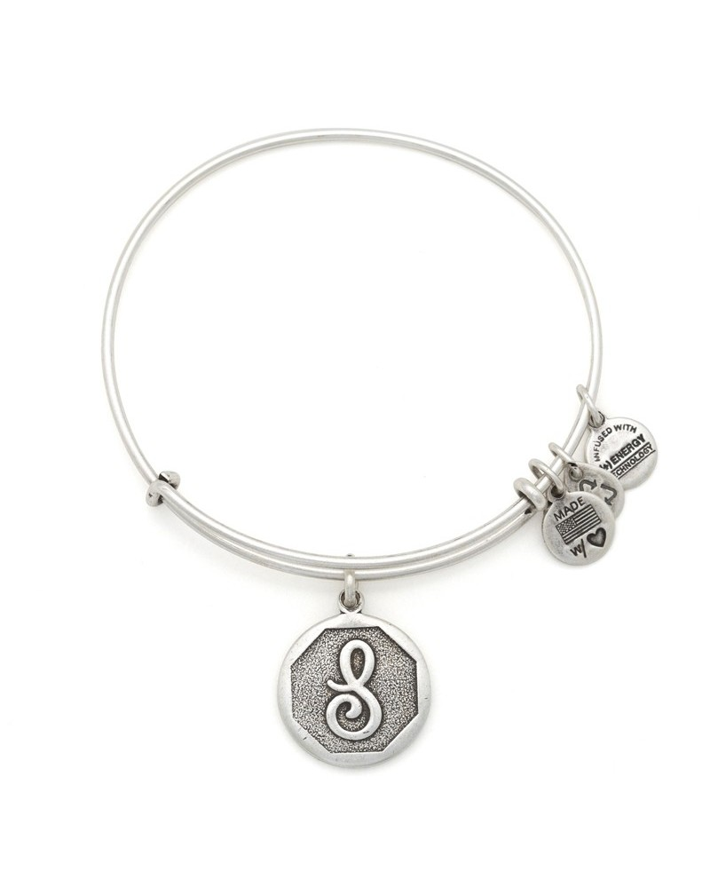 PULSERA ALEX AND ANI LETRA S NEW BLANCA A13EB14SS
