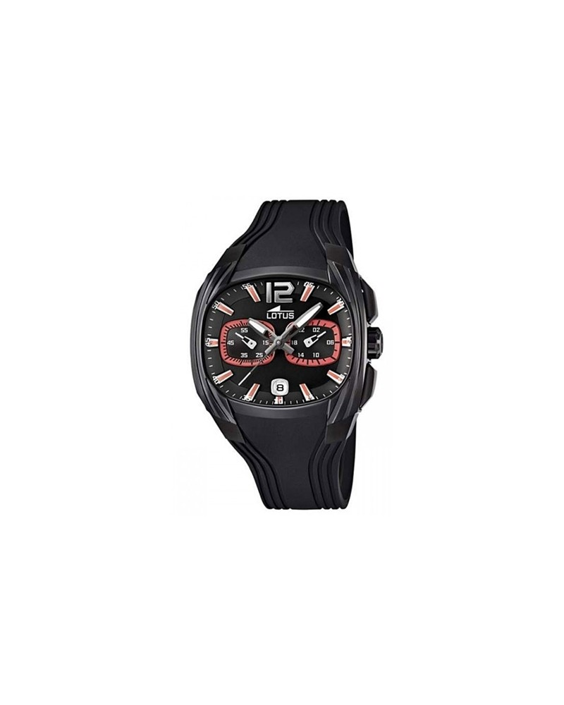 RELOJ LOTUS DOOM ENJOY CAJA NEGRA 15757/6