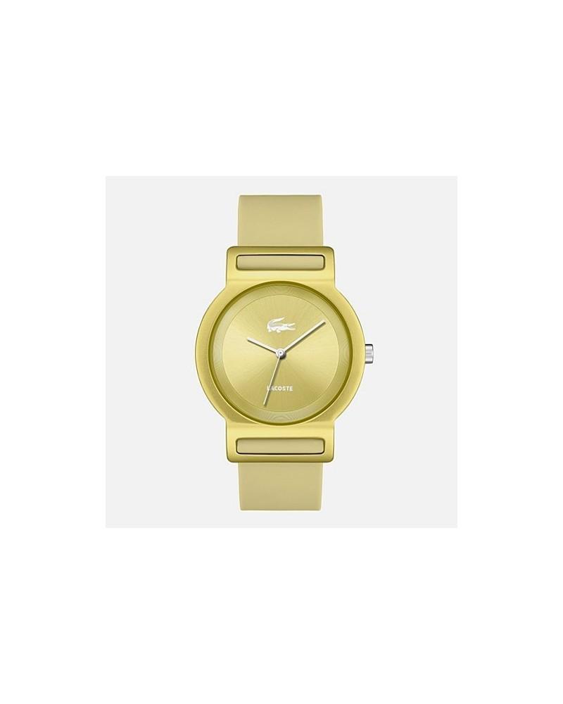 Reloj lacoste hombre dorado