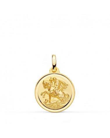 Medalla oro 9 kilates