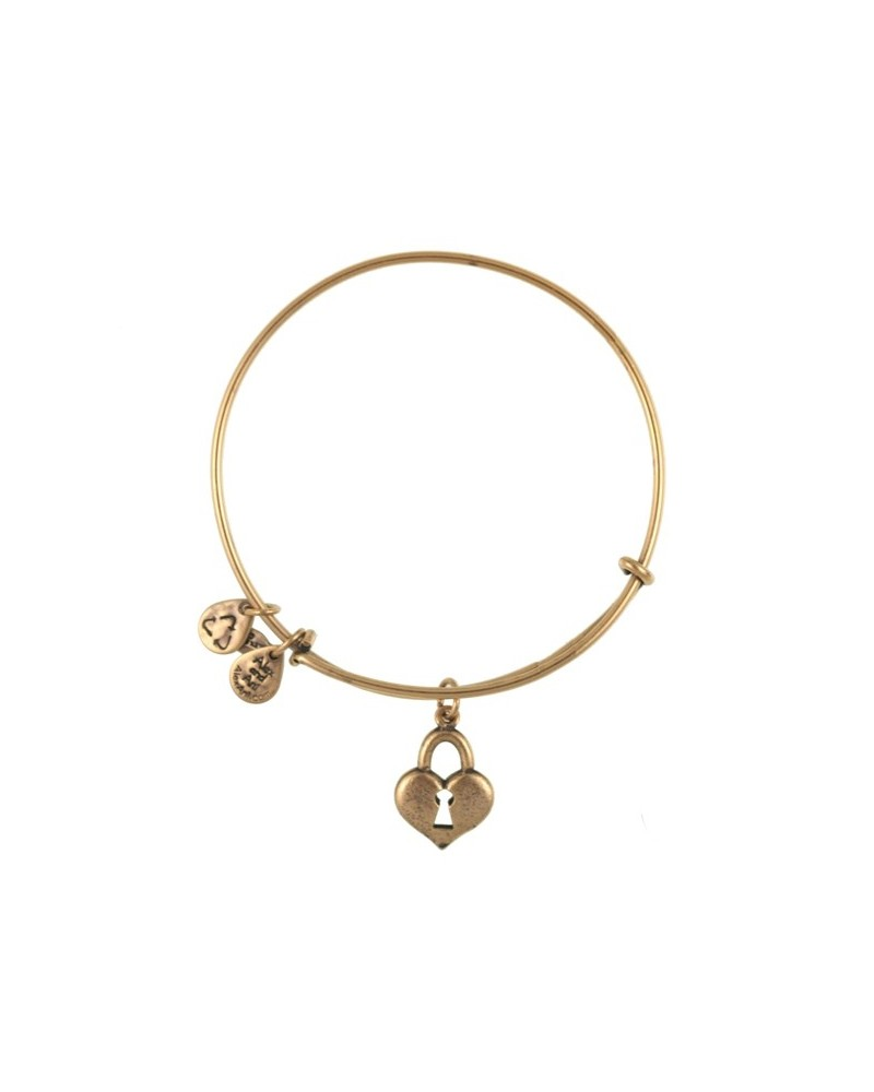 PULSERA ALEX AND ANI LLAVE CORAZON DORADO A09EB137RG