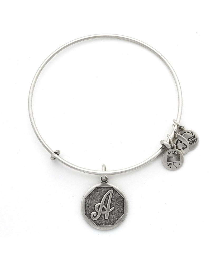 PULSERA ALEX AND ANI LETRA A A13EB14AS