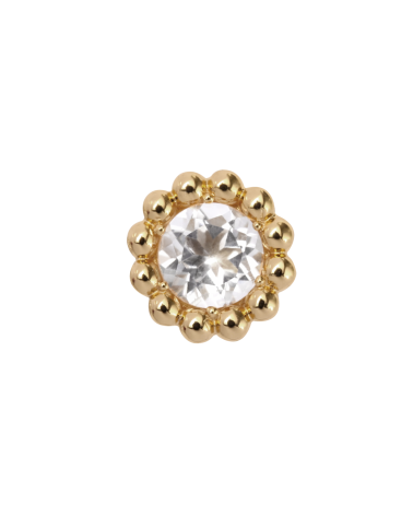 CHARM ENLESS CRYSTAL FLOWER 25404