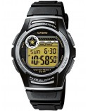 RELOJ CASIO MEDIANO NEGRO DIGITAL W-213-9AVES