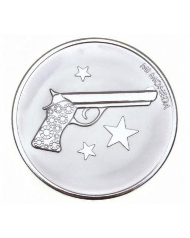 MI MONEDA MEDIANA PISTOLA RIHANA MON-AIM-01-M