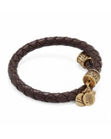 PULSERA ALEX AND ANI MARRON VW449RG