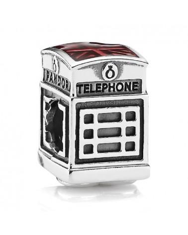 ABALORIO CHARM PANDORA CABINA DE TELEFONOS 791202EN49