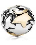 ABALORIO PANDORA ESTRELLAS ORO GOLD STAR 790871