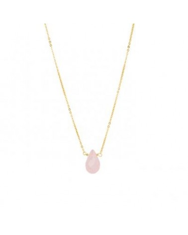 COLLAR LUXENTER CON HIDROTERMAL ROSA